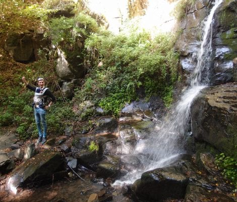 Starohutský vodopád Nová Baňa