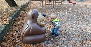 Piešťany Mestský park s deťmi