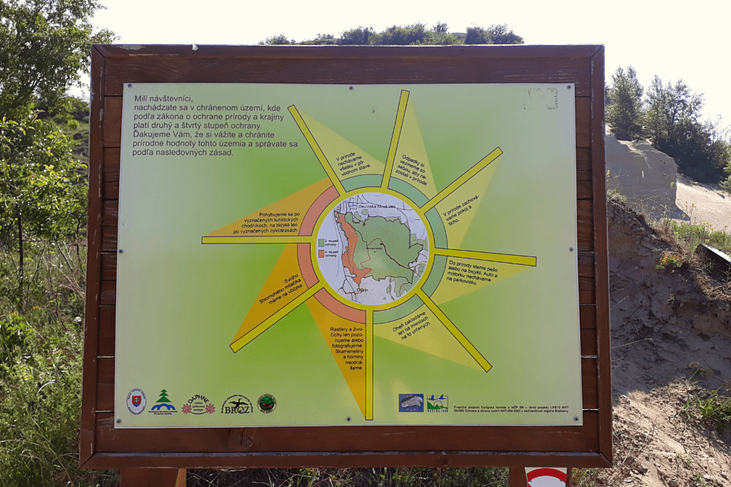 Sandberg chranena oblast