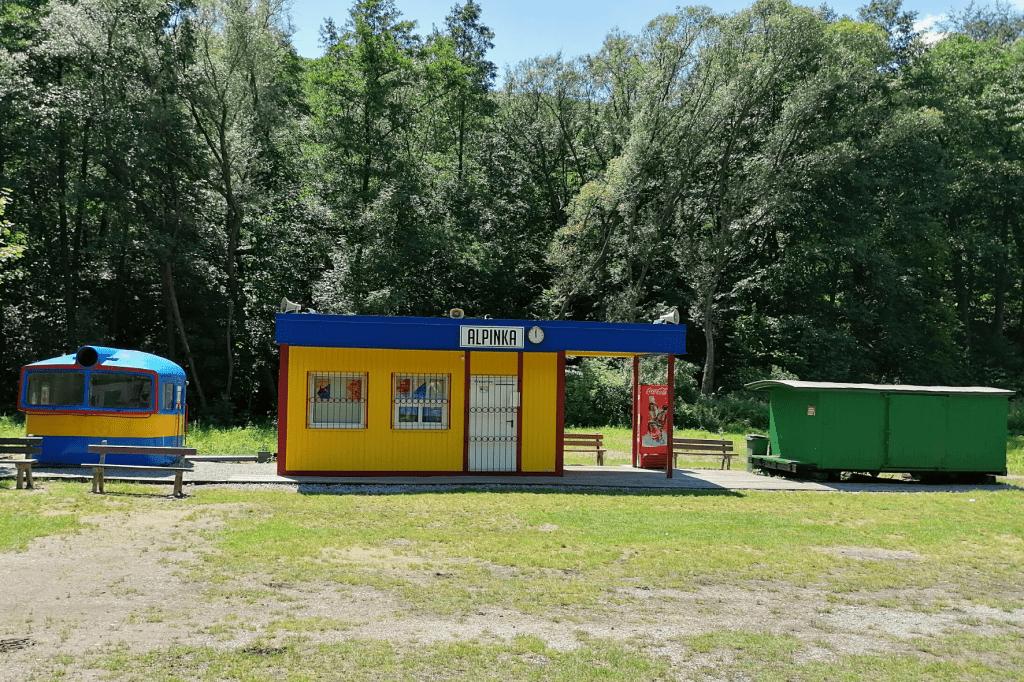 Detská železnica Košice Alpinka