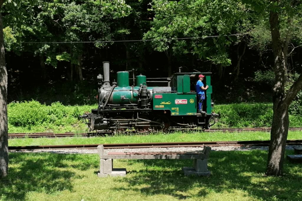 Detská železnica Košice Katka