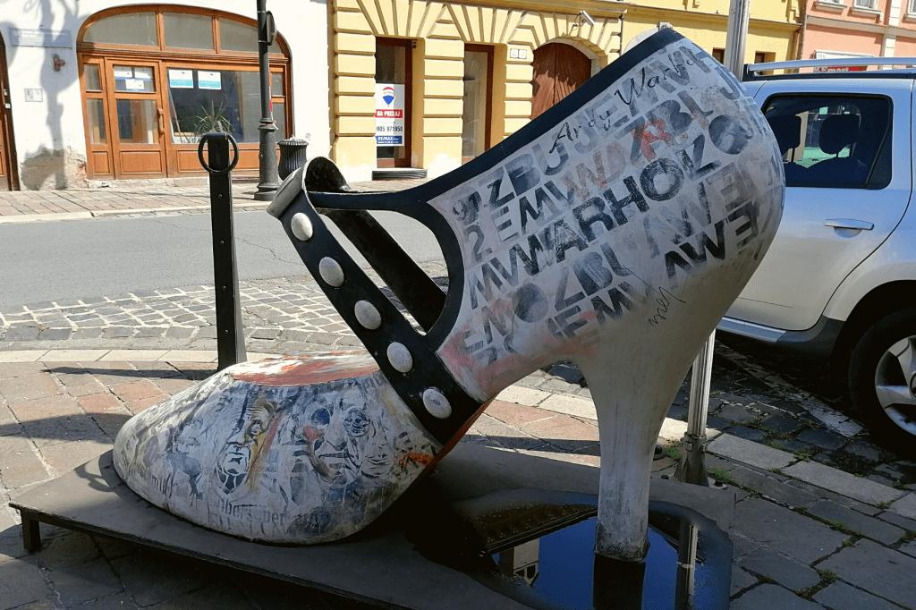 Košice lodička Warhol