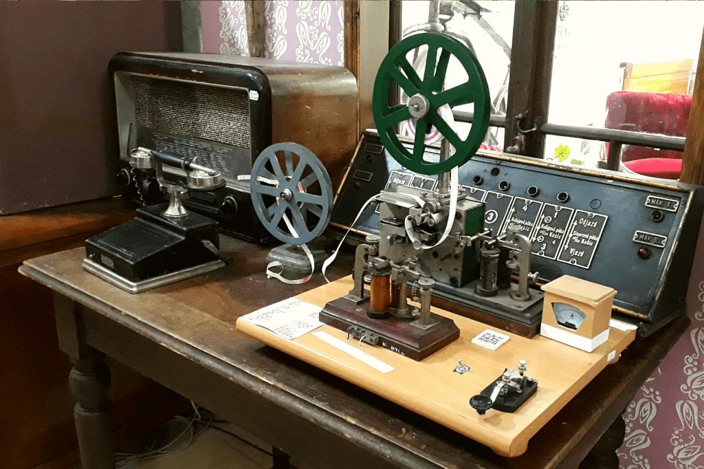 Rajecké Teplice Múzeum dopravy telegram