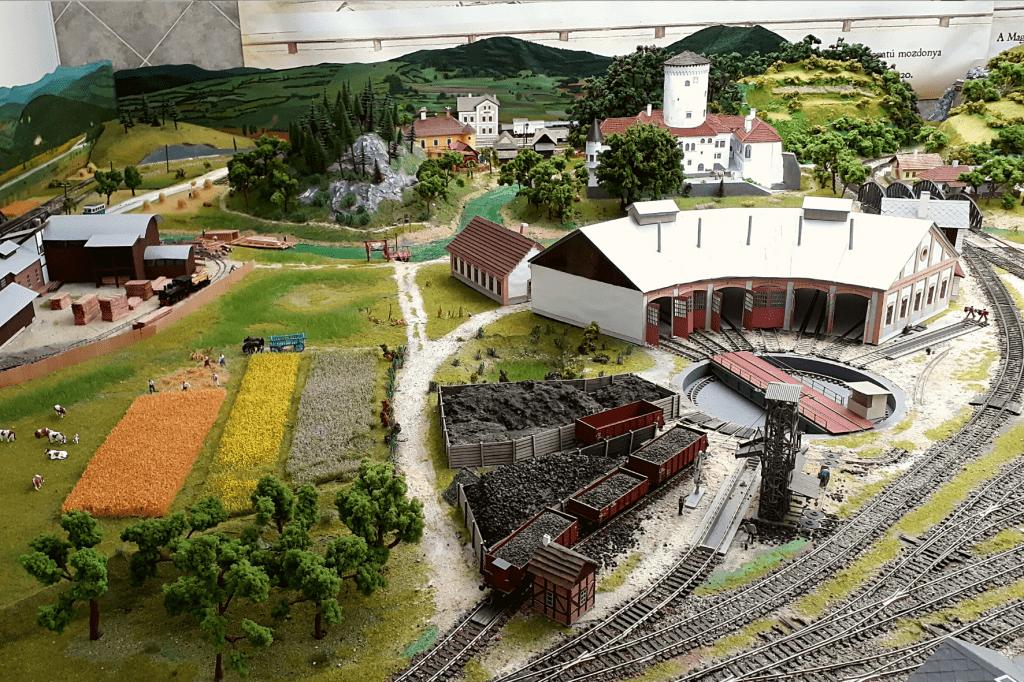 Rajecké Teplice Múzeum dopravy vláčik