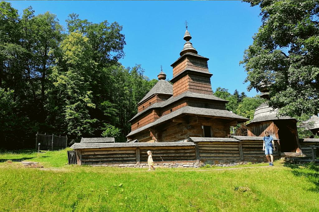 Bardejovské kúpele drevený kostol