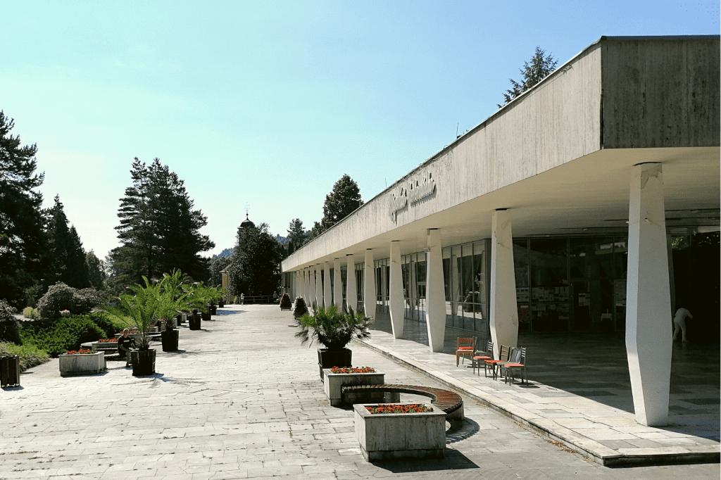 Bardejovské kúpele kolonáda