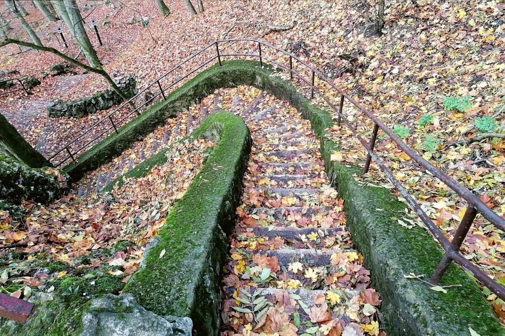 Jaskyna Driny schody